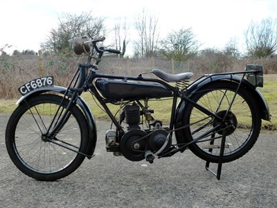 Lot 4 - 1926 Raleigh Model 14