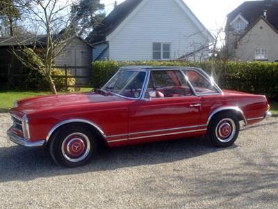 Lot 36 - 1968 Mercedes-Benz 250 SL