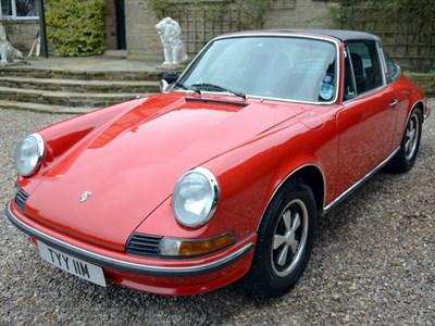 Lot 25 - 1973 Porsche 911 T