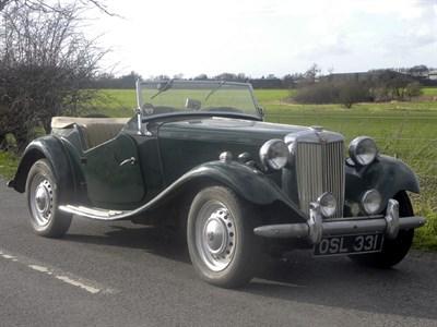 Lot 44 - 1952 MG TD