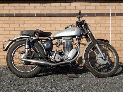Lot 9-1955 AJS 16MC