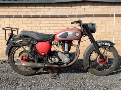Lot 8-1958 BSA B33