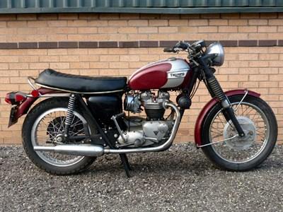 Lot 20-1970 Triumph T120R Bonneville