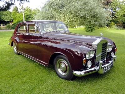 Lot 70 - 1963 Rolls-Royce Silver Cloud III LWB Limousine