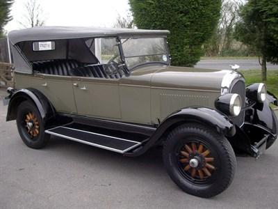 Lot 9 - 1927 Chrysler Series 60 Tourer
