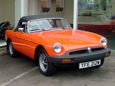 Lot 43 - 1980 MG B Roadster