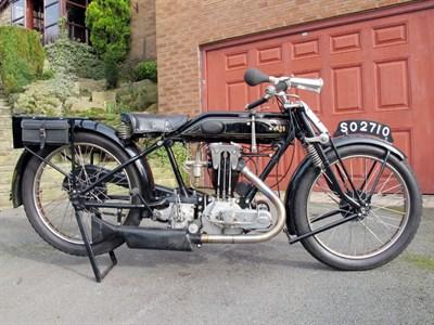 Lot 65-1926 AJS G8