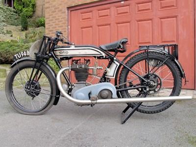 Lot 66-1928 Norton Model 18