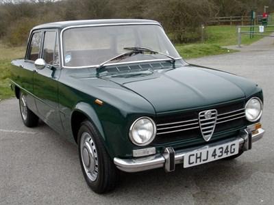 Lot 26 - 1969 Alfa Romeo Giulia 1300 Ti
