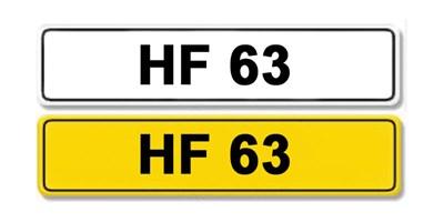 Lot 3 - Registration Number HF 63
