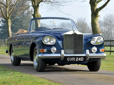 Lot 59 - 1966 Rolls-Royce Silver Cloud III Drophead Coupe