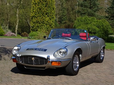 Lot 18-1972 Jaguar E-Type V12 Roadster