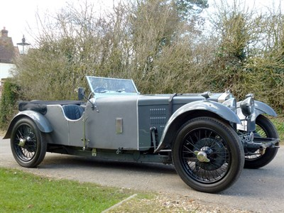 Lot 24 - 1926 Arab Super Sports Low Chassis Tourer