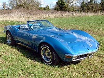 Lot 32 - 1971 Chevrolet Corvette Stingray Convertible