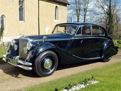 Lot 20 - 1951 Jaguar MK V 3.5 Litre Saloon