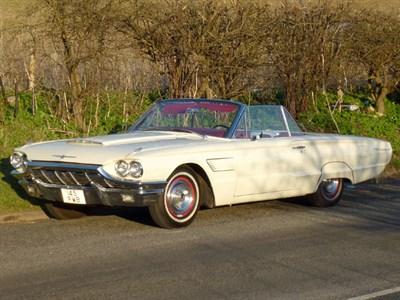 Lot 16 - 1965 Ford Thunderbird Convertible