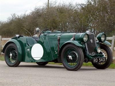 Lot 69 - 1934 Singer Nine Le Mans