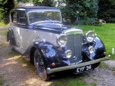 Lot 51 - 1938 Daimler E20 Saloon