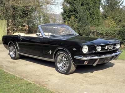 Lot 68 - 1965 Ford Mustang 289 Convertible