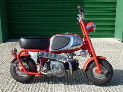 Lot 74-Honda CZ100
