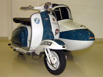 Lot 89-1960 Lambretta LI Combination