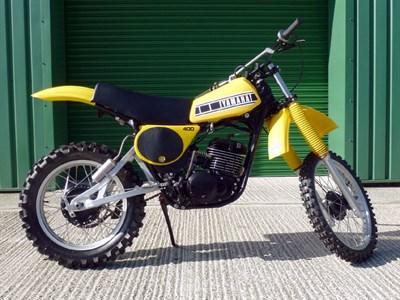 Lot 76-Yamaha YZ400