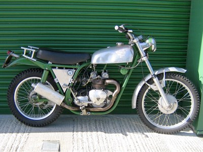 Lot 91 - 1968 Cheney Triumph ISDT
