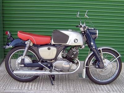 Lot 88-c.1962 Honda CB92