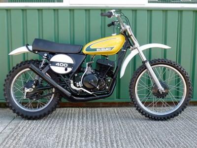 Lot 77-Suzuki TM400