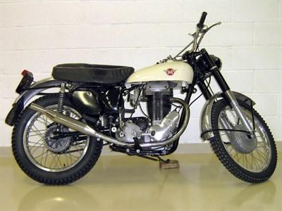 Lot 79-1956 Matchless G3L