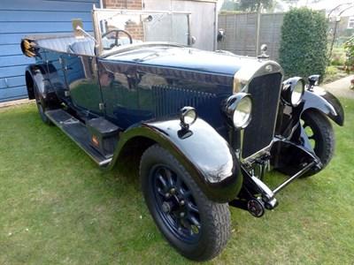 Lot 61 - 1928 Humber 16/50 Tourer