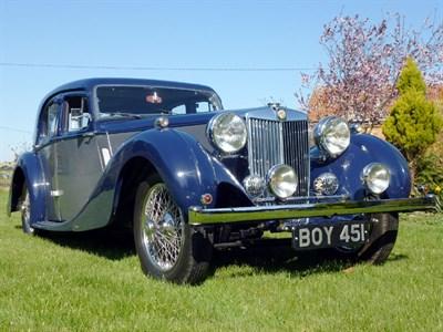 Lot 64 - 1936 MG SA Saloon
