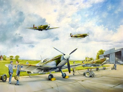 Lot 1 - 'Return from Ops' Original Artwork by Murray
