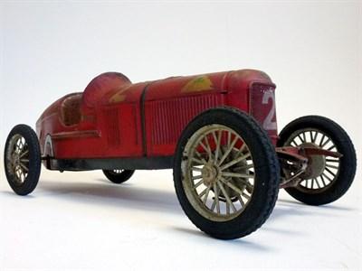 Lot 11 - CIJ Alfa Romeo P2 Clockwork Tinplate Toy