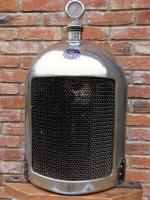 Lot 15 - Bullnose Morris Radiator