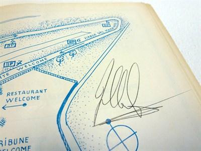 Lot 2 - Signed 1967 Race Programme