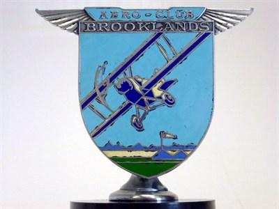 Lot 12 - Brooklands Aero Club Badge