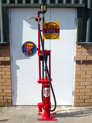 Lot 22 - Restored Petrol Pump