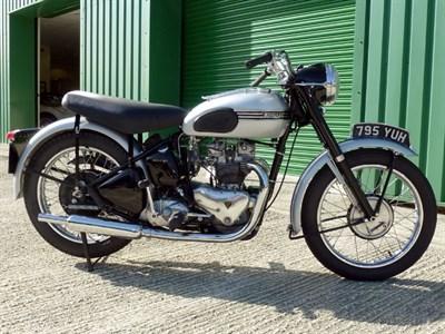 Lot 87-1953 Triumph T100 Tiger
