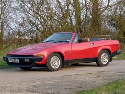 Lot 75 - 1982 Triumph TR7 Convertible
