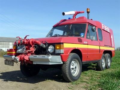 Lot 32 - 1969 Range Rover Velar Fire Engine