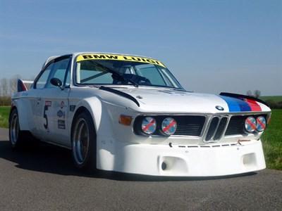 Lot 77 - 1972/81 BMW 3.0 CSi / 'Batmobile' CSL FIA Gp4 Race Car