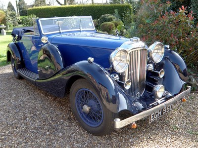 Lot 41-1937 Lagonda LG45 Drophead Coupe