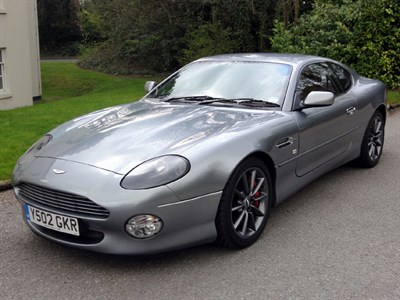 Lot 64-2001 Aston Martin DB7 Vantage