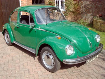 Lot 2-1972 Volkswagen Beetle 1303