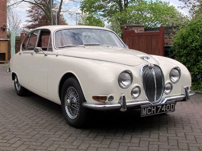 Lot 62-1966 Jaguar S-Type 3.8 Litre