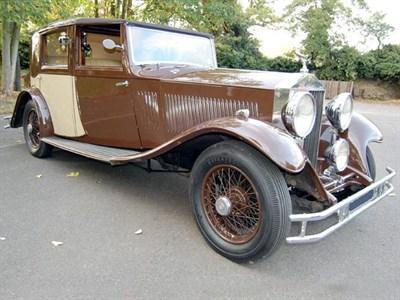 Lot 12 - 1934 Rolls-Royce 20/25 Sedanca de Ville