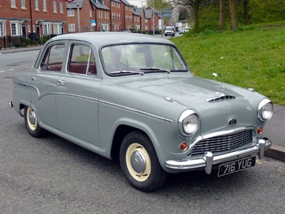Lot 37-1958 Austin A55 Saloon