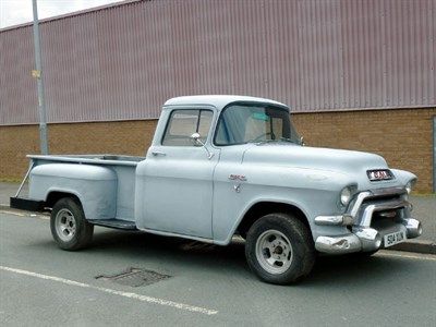 Lot 38-1956 GMC 100 Pickup