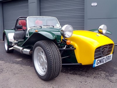 Lot 1-2010 Caterham Seven 1.6 Roadsport